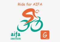 Michael's 12 day ride from Melbourne to Sydney for AIFA