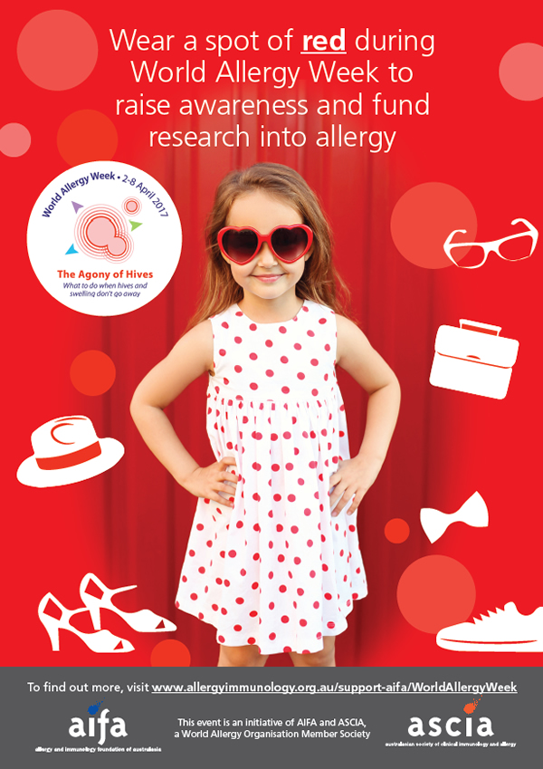 World Allergy Week Poster