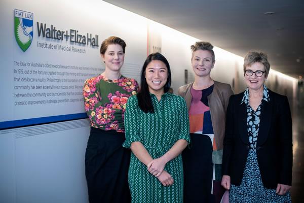 Dr Vanessa Bryant Dr Samantha Chan Dr Charlotte Slade and Dr Jo Douglass